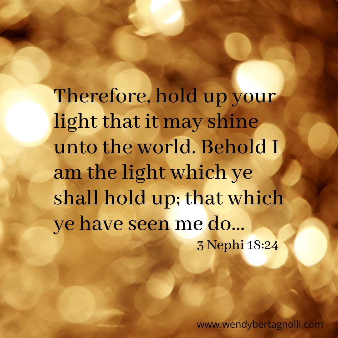 IG of Shining the light of Christ